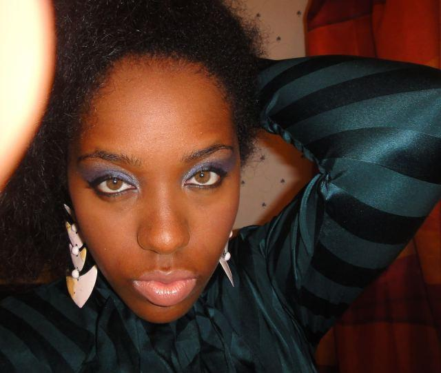 Tyraslilsis, Cosmetically Challenged, Dior, Ricky Wilson, Blue eyeshadow