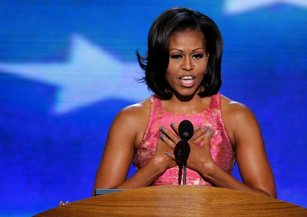 Rumor Has it… Was Michelle Obama Wearing OPI Nail Polish?