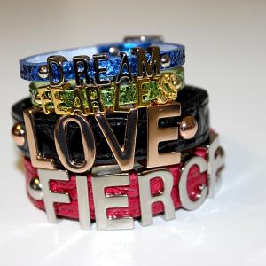Say It With Your Wrist! x BCBG Affirmation Bracelets