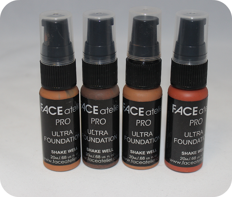 Face Atelier Ultra Foundation Pro- #11, #12, O++ and HeatUsed Once $20 each or $75 for Set