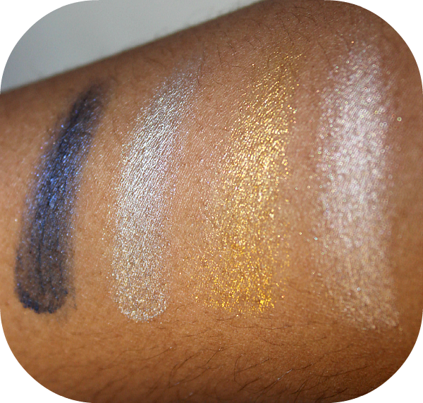 Maybelline 24hr Color Tattoo Swatches