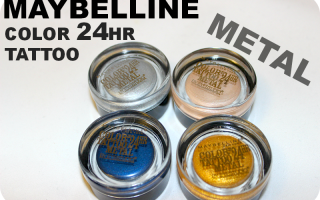Maybelline 24hr color Tattoo Metal