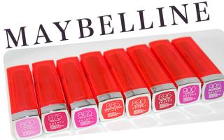 Maybelline Vivid Colors Lipstick