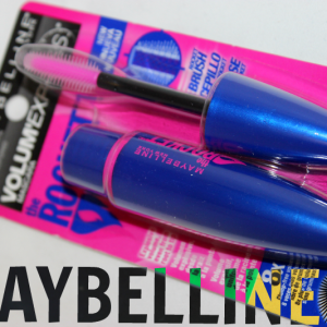 "Maybelline Volum'Express Mascara ""The Rocket"" Review"