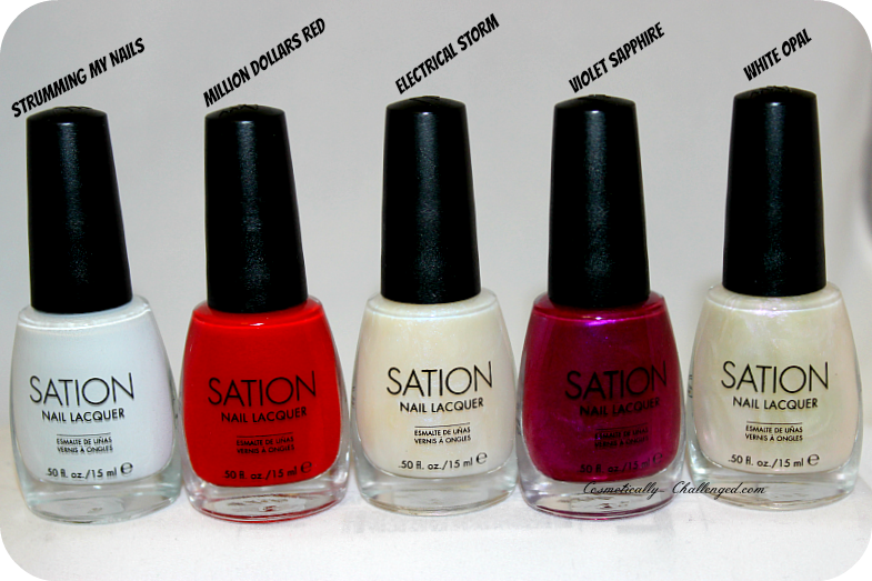 Last Month While In Atlanta I Stopped By A Nail Supply Was Looking For The New Sation Holiday Collection Unfortunately It Wasn T Yet So Without
