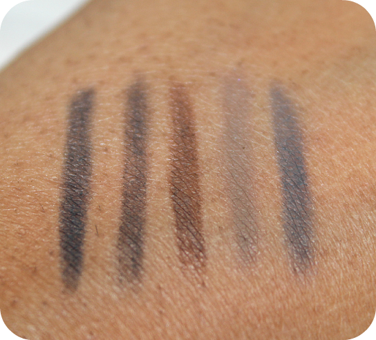 DHC Care Eyebrow Pencil Swatches
