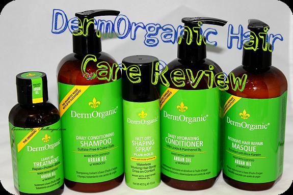 DermOrganic Argan Oil Hair Care Line x Review
