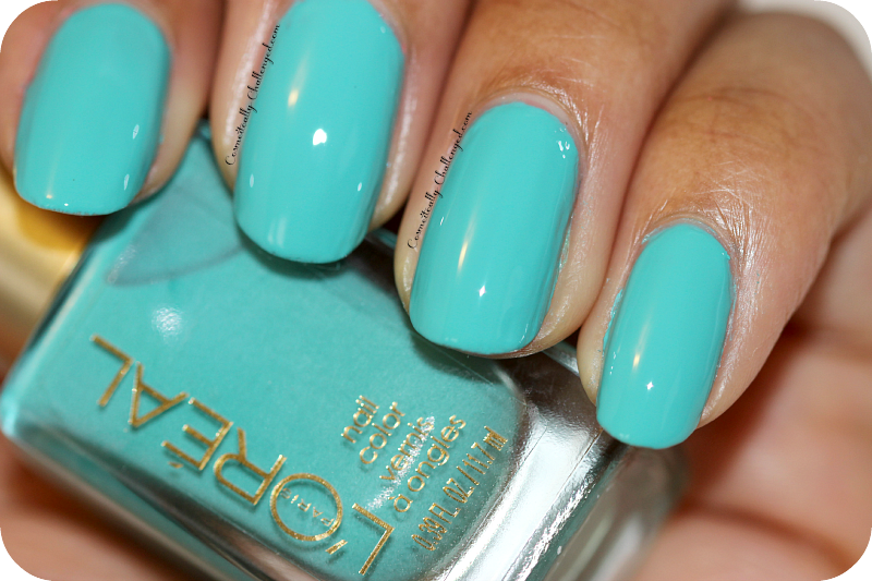 L'oreal Trendsetter Nail Polisin in Not a Cloud in Sight