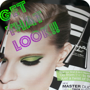 Dare to Try! Get the Look using Maybelline Master Duo Liners!