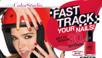 Get a Fabolous and Fast Mani with the new Speed Dry Nail Polish from Avon