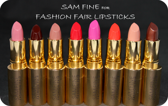 Sam Fine for Fashion Fair Lipstick