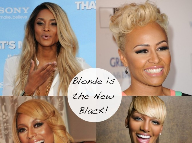 Is Blonde the New Black? Four Celebrities that Make me want to go Blonde!