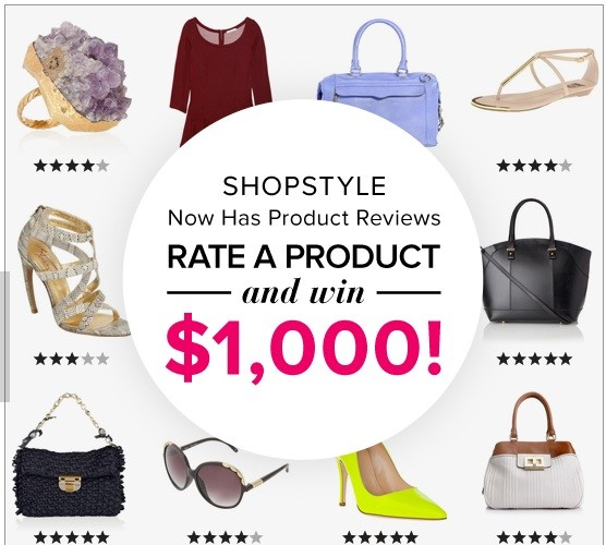 Rate and Win with ShopStyle!