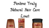 Pantene Truly Natural Hair Care Line