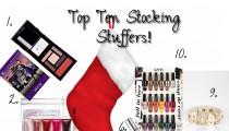 Top Ten Stocking Stuffers!