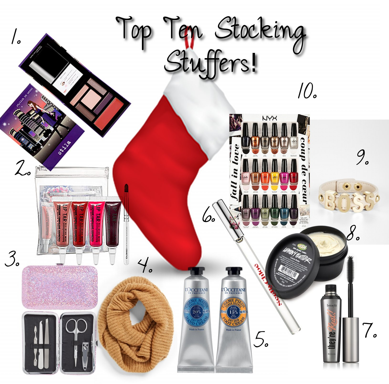 Top Ten Stocking Stuffers