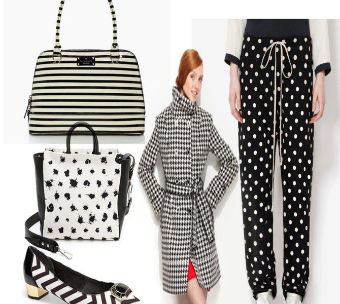 Stylish Black and White Patterns