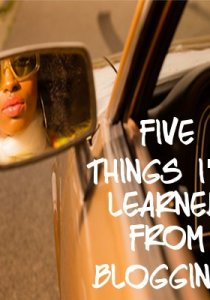 Five Things I've Learned from Blogging