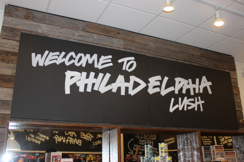 Lush Spa Philadelphia Opening