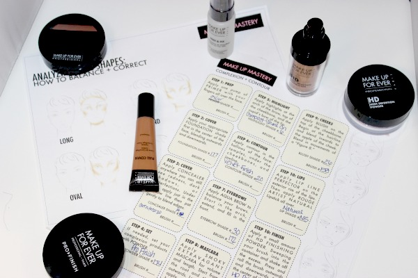 Make Up For Ever Complexion and Contour Class