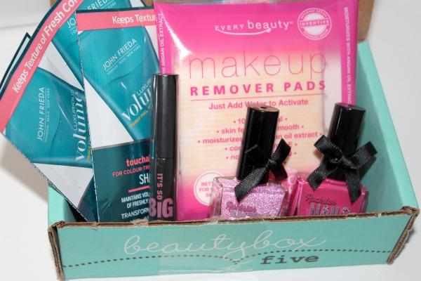 February Beauty Box 5. What's Inside?