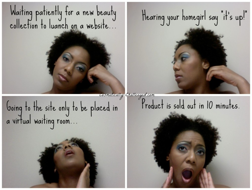 The Emotions of a Beauty Addict Waiting for an Online Beauty Launch