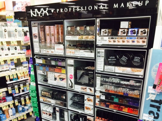 Stop the Presses! CVS Sells NYX Cosmetics Now!