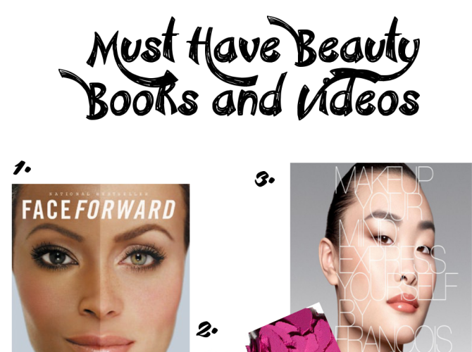 Must Have Beauty Books and Videos