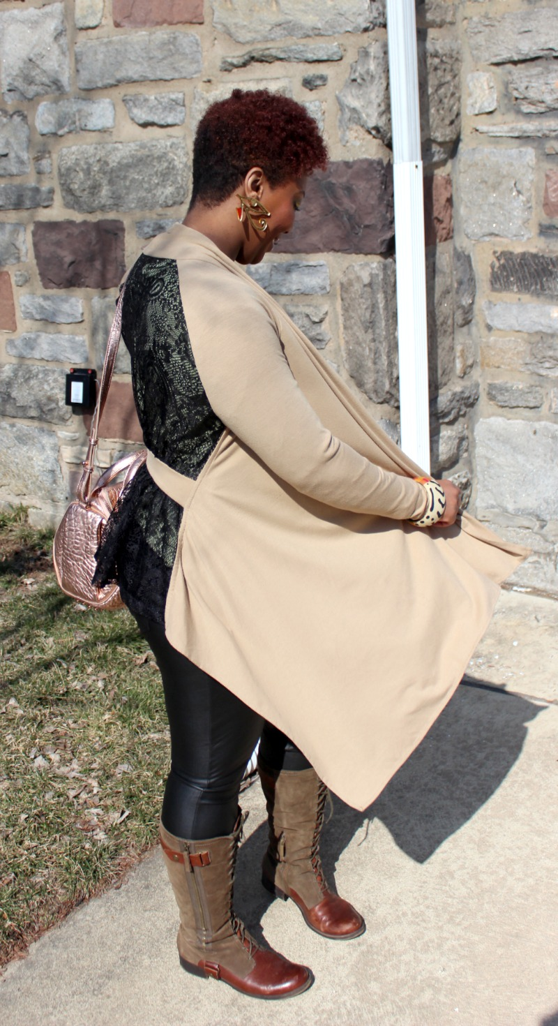 Outfit of the Day : Playing With Fabrics