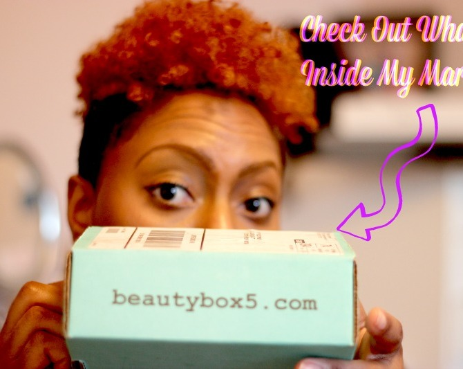 What's in my March Beauty Box 5?