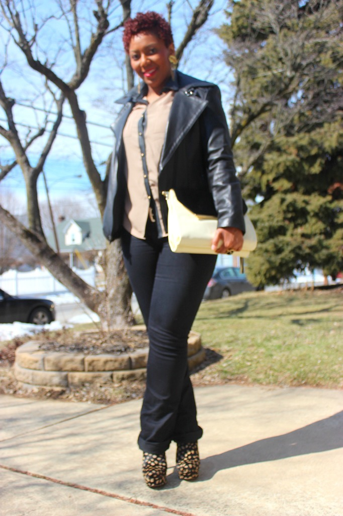 Outfit of the Day, Vince Camuto Kyla Shoulder
