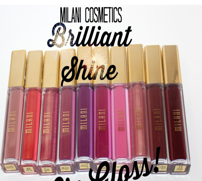 Milani Brilliant Shine Lip Gloss May Just Give You Super Powers!