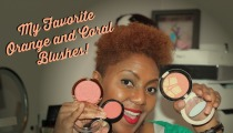 My Favorite Orange and Coral Blushes