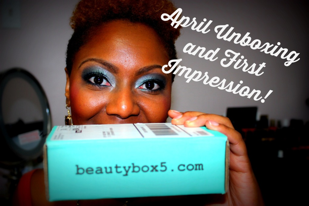 April Beauty Box 5 Unboxing and First Impression Video