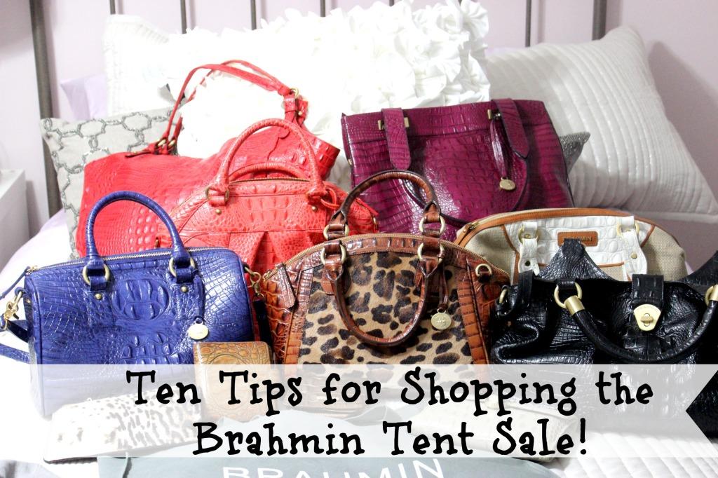Brahmin Tent Sale, Brahmin Sample Sale, Brahmin Outlet