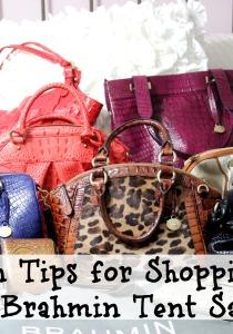 Ten Tips for Shopping the Brahmin Tent Sale 2014!