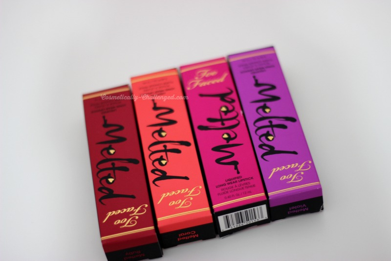 Too Faced Melted Liquified Long Wear Lipsticks