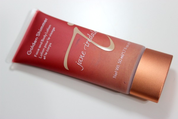 Get your Glow on with the Jane Iredale Golden Shimmer Face and Body Lotion