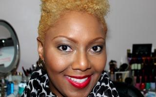 Blonde hair on Black Women