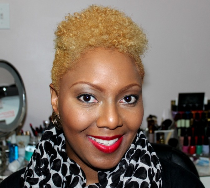 My new hair: I'm Officially a Blonde Bombshell!