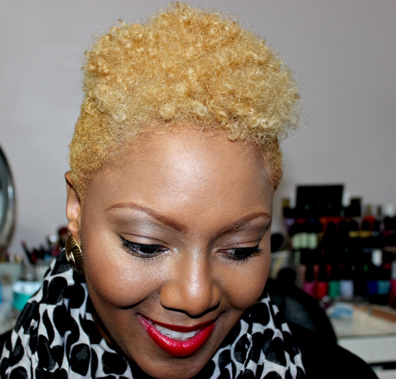 Blonde Hair on Black Women, Cosmetically Challenged, Blonde Hair