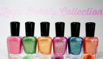 Zoya Bubbly Collection 2014 Nail Polish Swatches