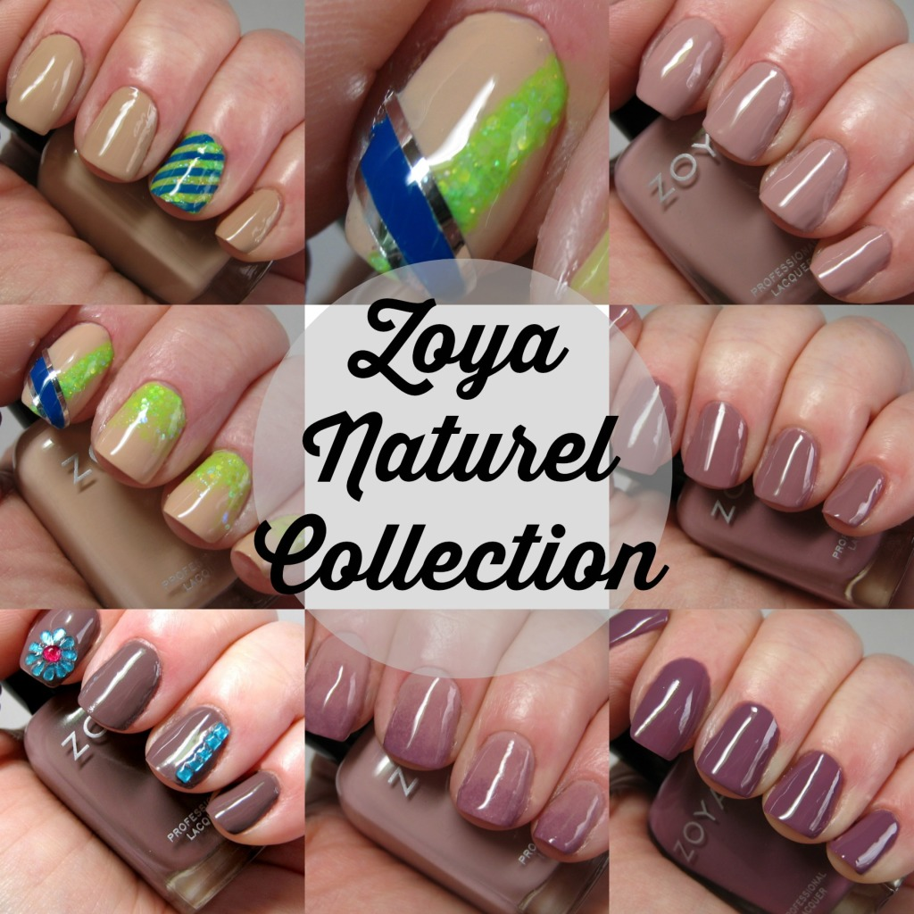 Zoya Naturel Collection and picking the perfect nude polish