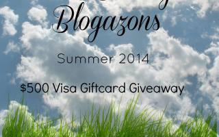 Beauty Blogazon $500 Visa Give Away