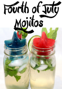 Summer Drink Series: Fourth of July Mojitos!