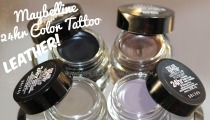 Maybelline LEATHER 24hr Color Tattoos