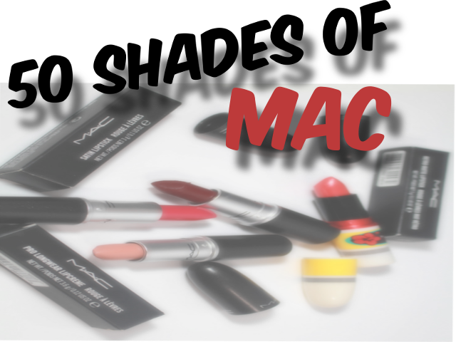 50 Shades of MAC Cosmetics Lipsticks Part 1