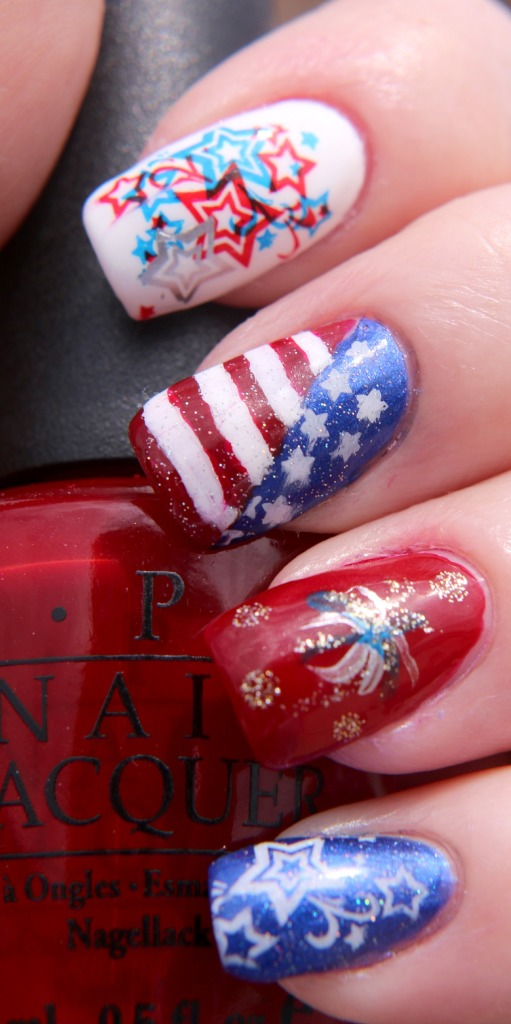 Fourth of July Nail Art 1.jpg