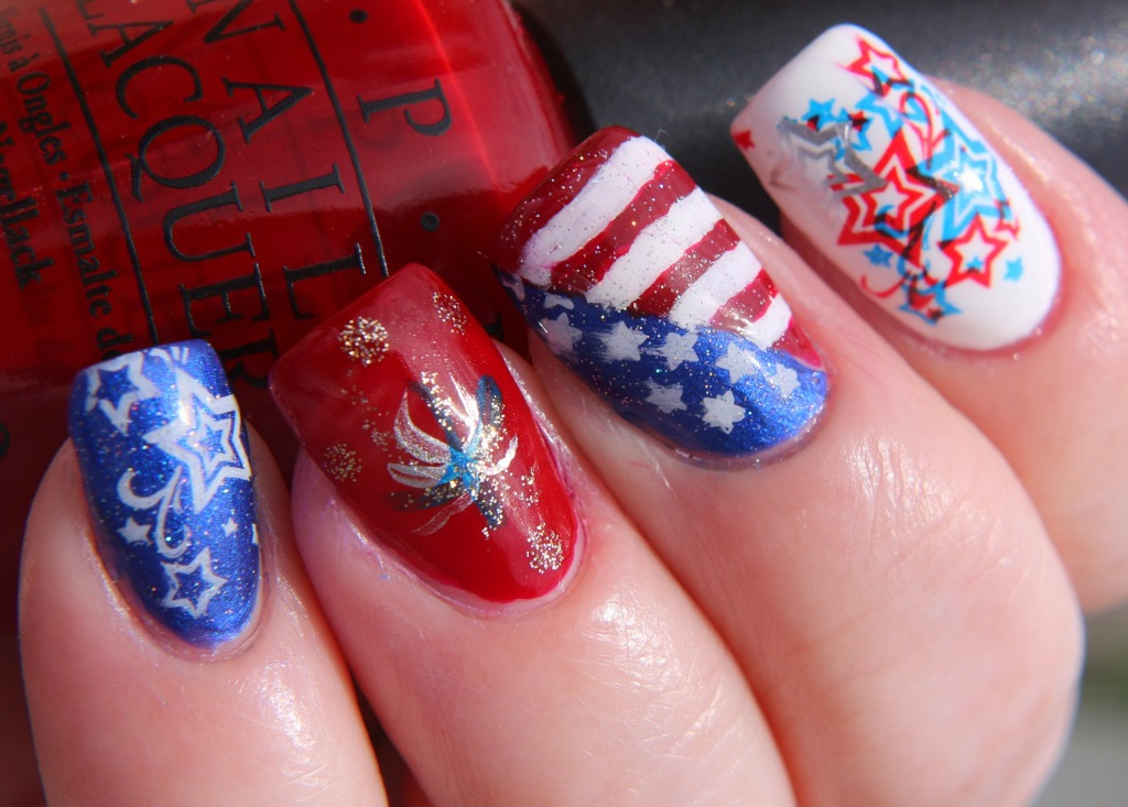 Fourth of July Nail Art.jpg