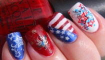 Finger Lickin' Good Fourth of July Nail Art!